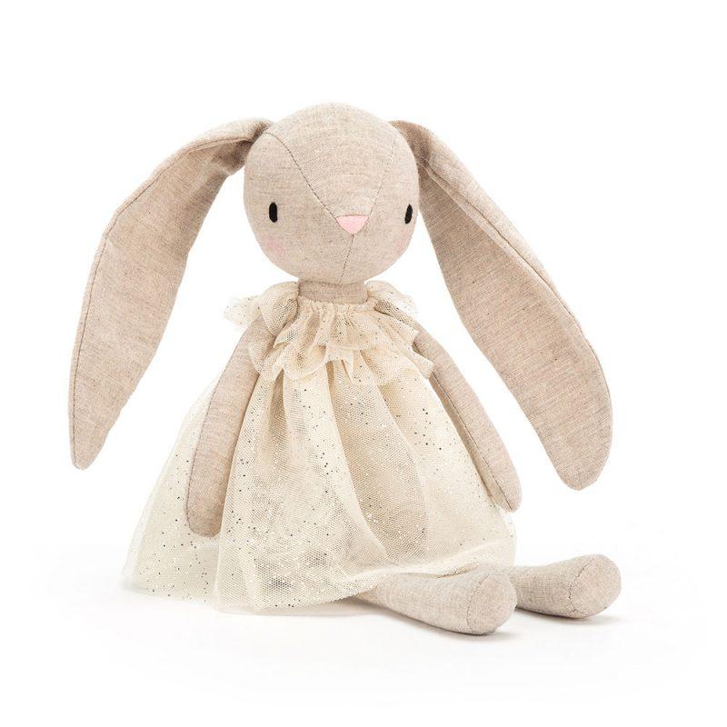 JellyCat Przytulanka królik Jolie 30 cm - Pan Talerzyk