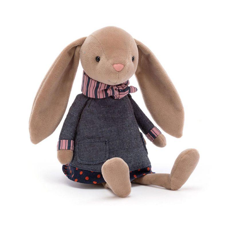 JellyCat Przytulanka królik Riverside 26 cm - Pan Talerzyk