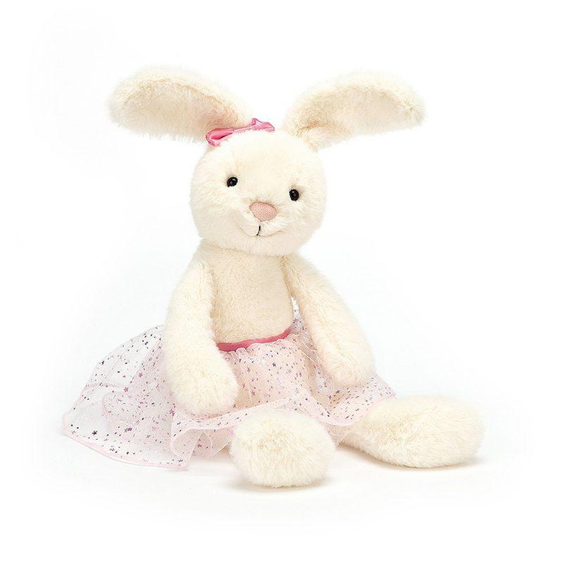 JellyCat Przytulanka królik baletnica Belle 37 cm - Pan Talerzyk