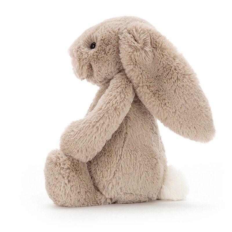 JellyCat Przytulanka królik beżowy 31 cm - Pan Talerzyk