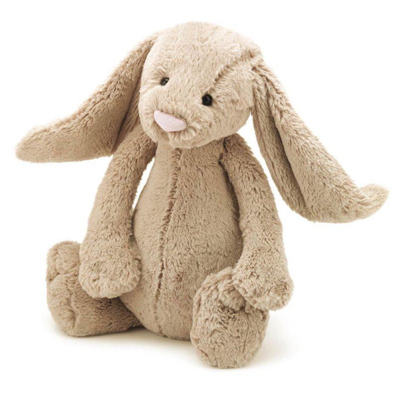 JellyCat Przytulanka królik beżowy 36 cm - Pan Talerzyk