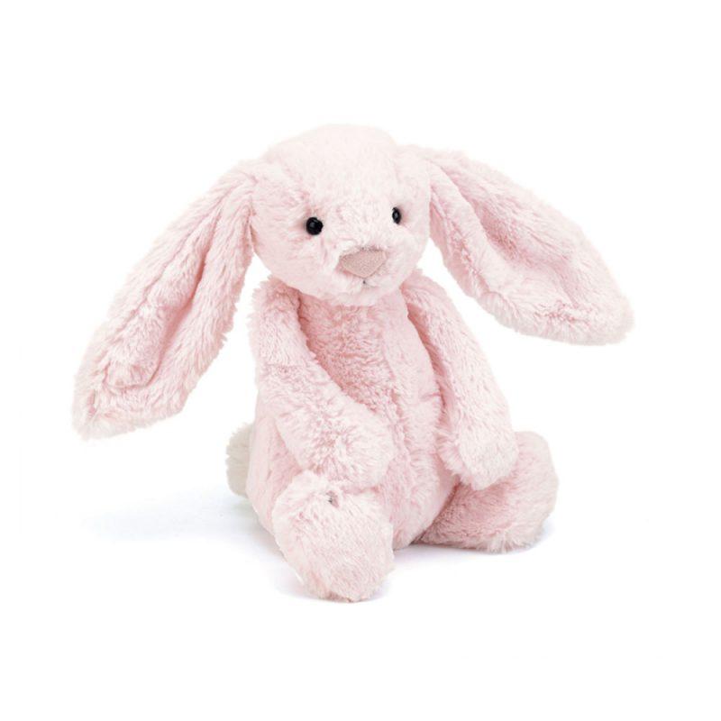 JellyCat Przytulanka królik jasnoróżowy 36 cm - Pan Talerzyk