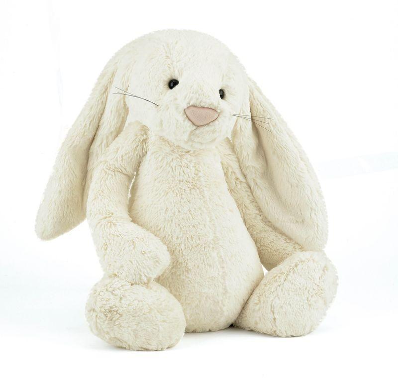 JellyCat Przytulanka królik kremowy 51 cm - Pan Talerzyk