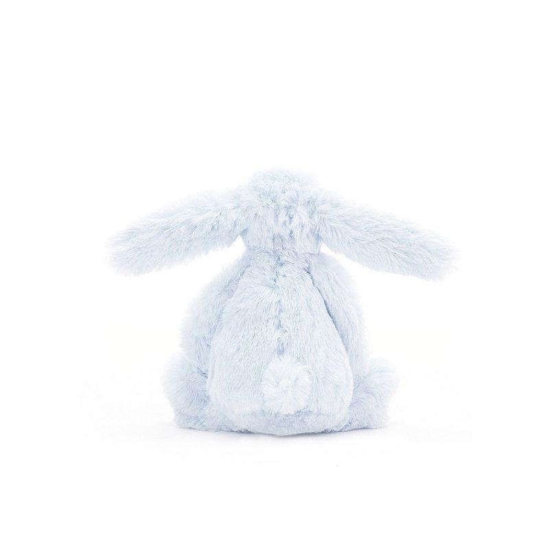 JellyCat Przytulanka królik niebieski 13 cm - Pan Talerzyk