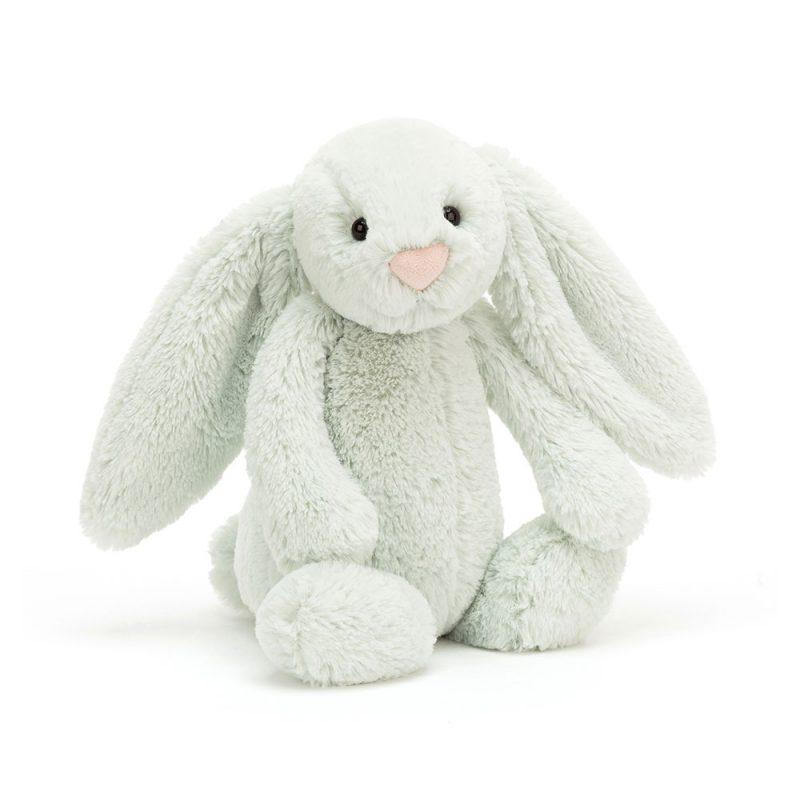 JellyCat Przytulanka królik pastelowy zielony 31 cm - Pan Talerzyk