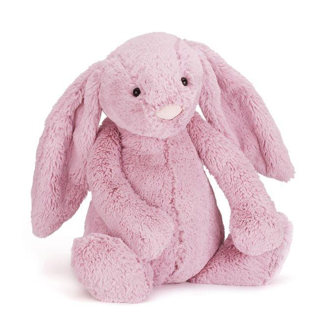 JellyCat Przytulanka królik różowy 51 cm - Pan Talerzyk