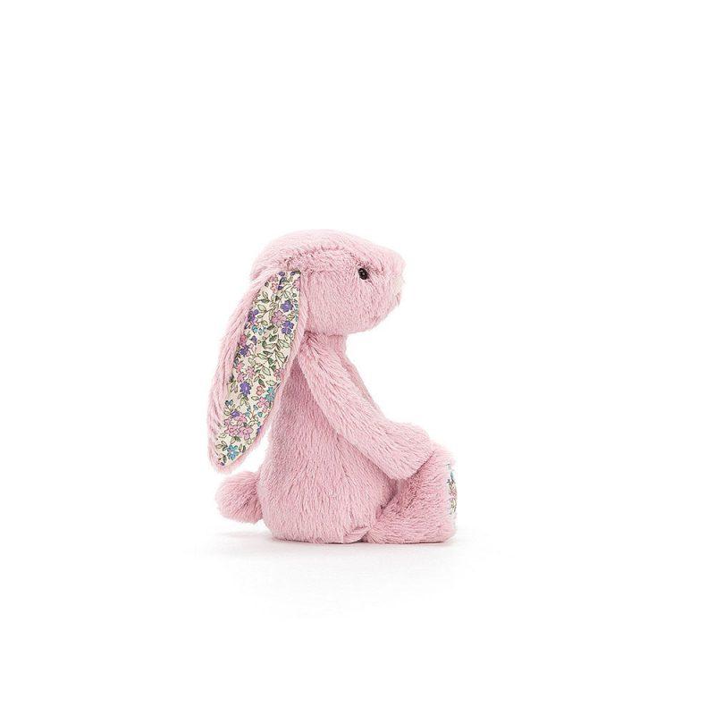 JellyCat Przytulanka królik różowy kolorowe uszy 31 cm - Pan Talerzyk