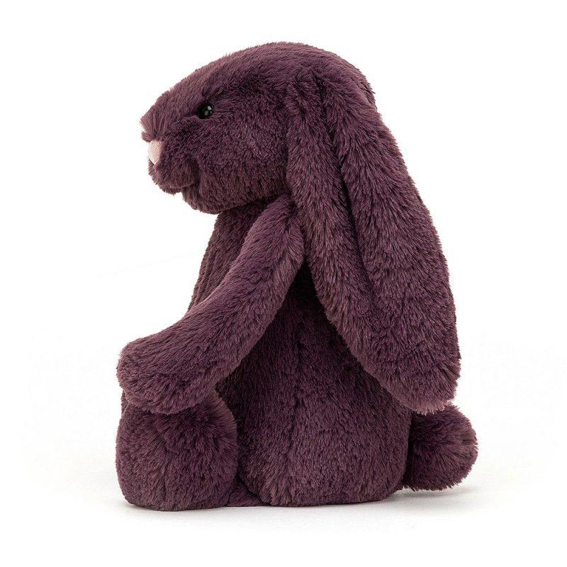 JellyCat Przytulanka królik śliwkowy 18 cm - Pan Talerzyk
