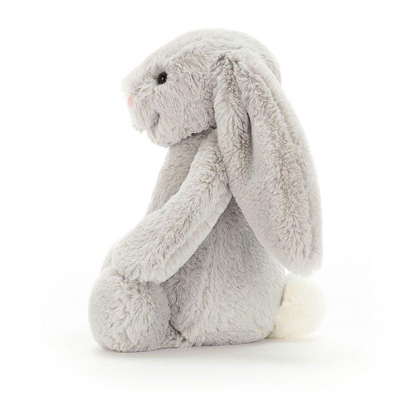 JellyCat Przytulanka królik szary 18 cm - Pan Talerzyk