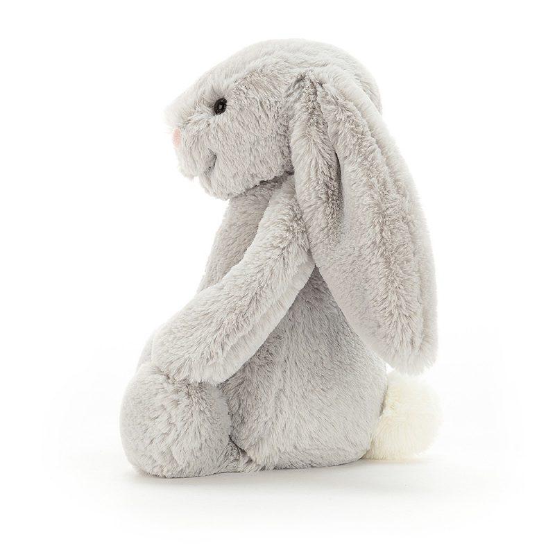 JellyCat Przytulanka królik szary 31 cm - Pan Talerzyk