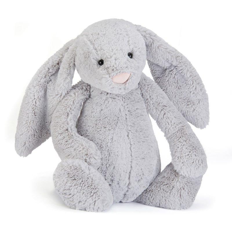 JellyCat Przytulanka królik szary 36 cm - Pan Talerzyk