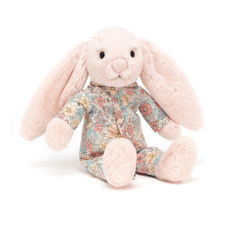 JellyCat Przytulanka królik w ubranku 23 cm - Pan Talerzyk