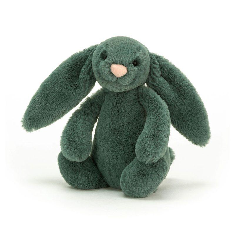 JellyCat Przytulanka królik zielony 18 cm - Pan Talerzyk