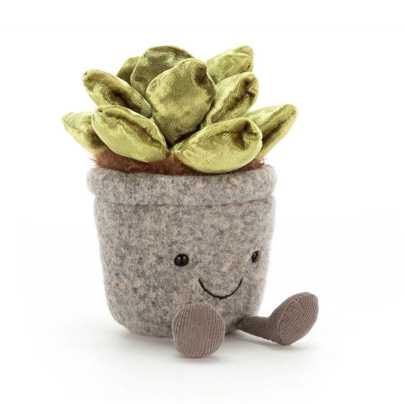 JellyCat Przytulanka kwiat Silly Sukulent 16 cm - Pan Talerzyk