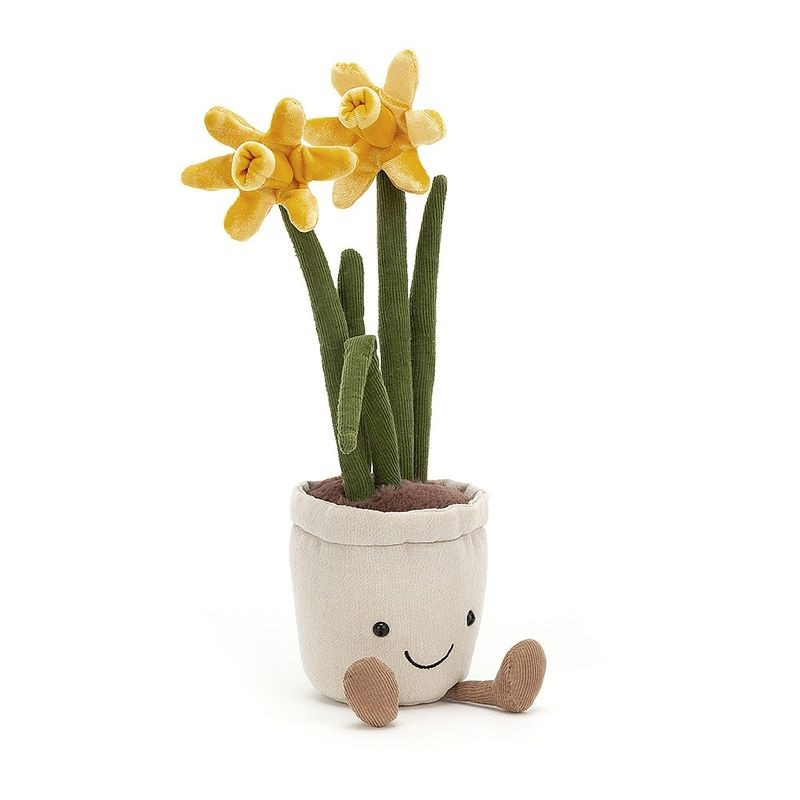 JellyCat Przytulanka kwiatek żonkil Amuse 30 cm - Pan Talerzyk
