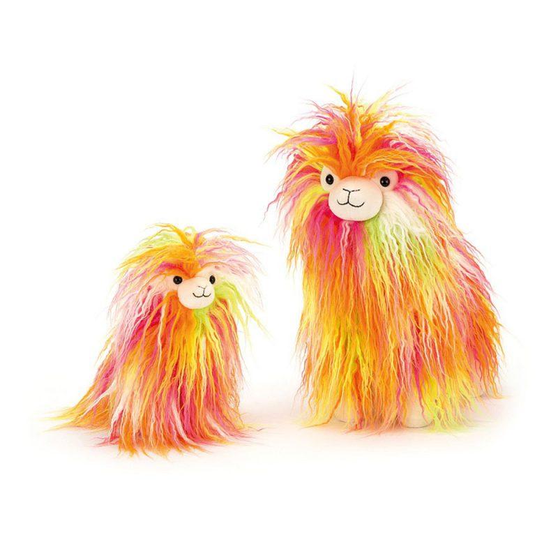 JellyCat Przytulanka lama Fiesta 20 cm - Pan Talerzyk