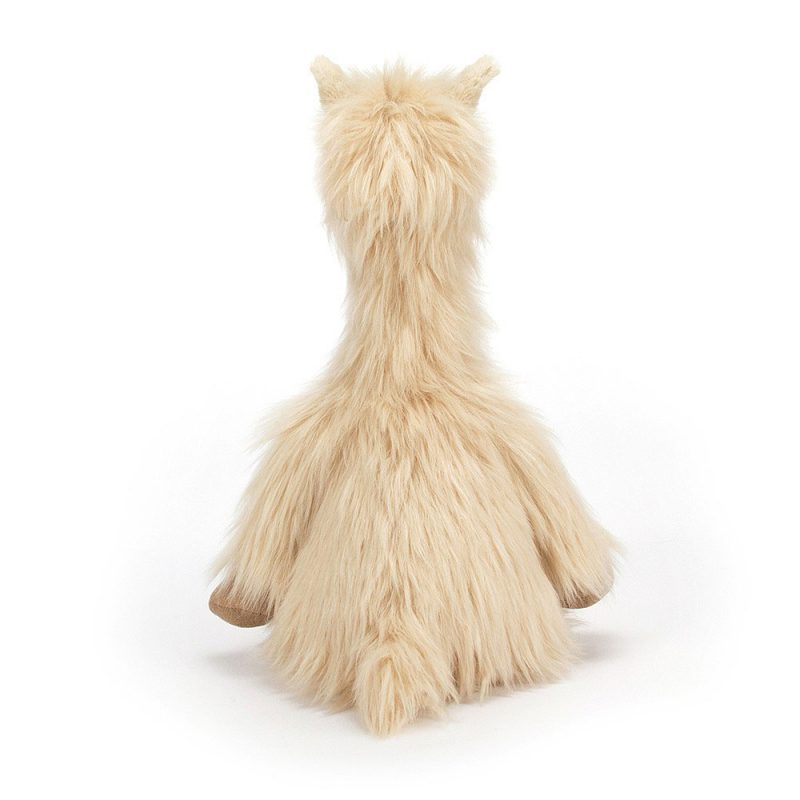 JellyCat Przytulanka lama Luis 45 cm - Pan Talerzyk