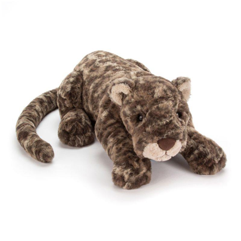 JellyCat Przytulanka leopard Lexi Leopard 46 cm - Pan Talerzyk
