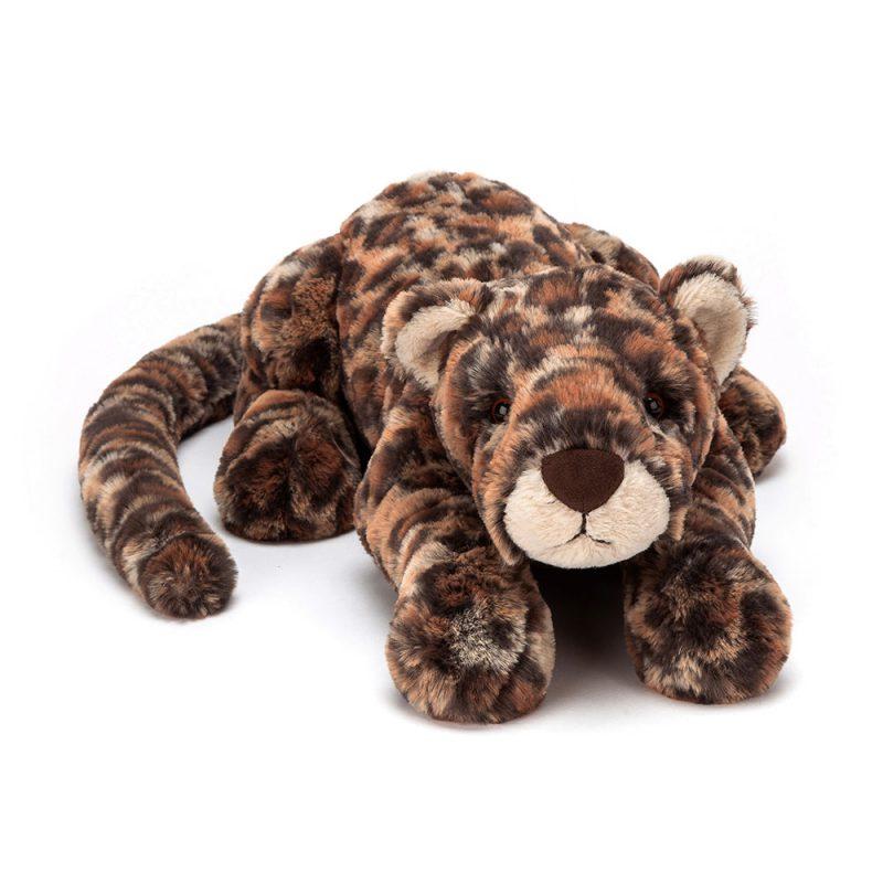 JellyCat Przytulanka leopard Livi 29 cm - Pan Talerzyk