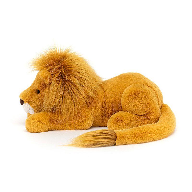 JellyCat Przytulanka lew Louie 27 cm - Pan Talerzyk