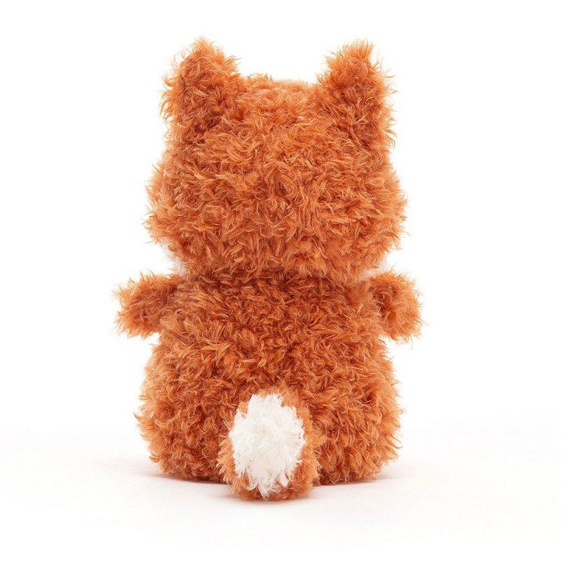 JellyCat Przytulanka little lisek 18 cm - Pan Talerzyk