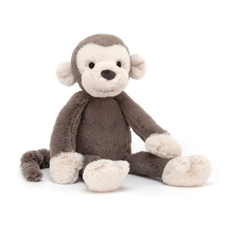 JellyCat Przytulanka małpa Brodie 27 cm - Pan Talerzyk