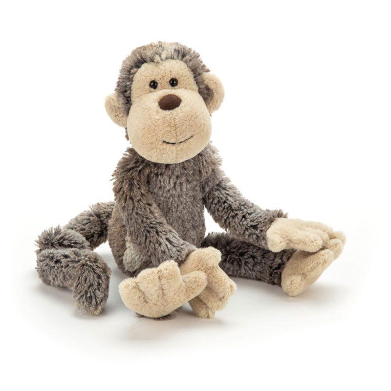 JellyCat Przytulanka małpka 31 cm - Pan Talerzyk