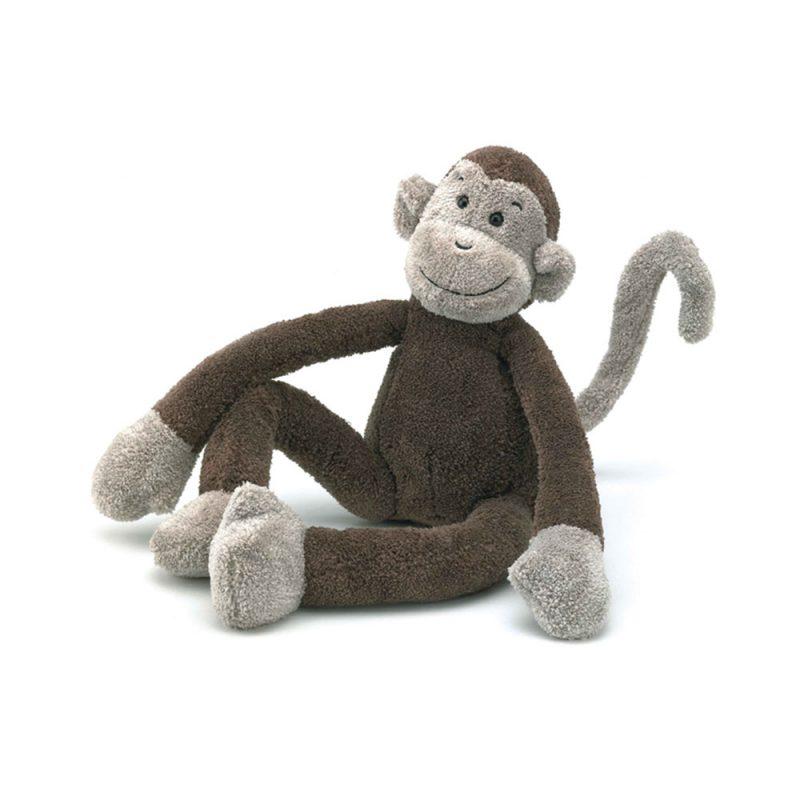 JellyCat Przytulanka małpka 36 cm - Pan Talerzyk