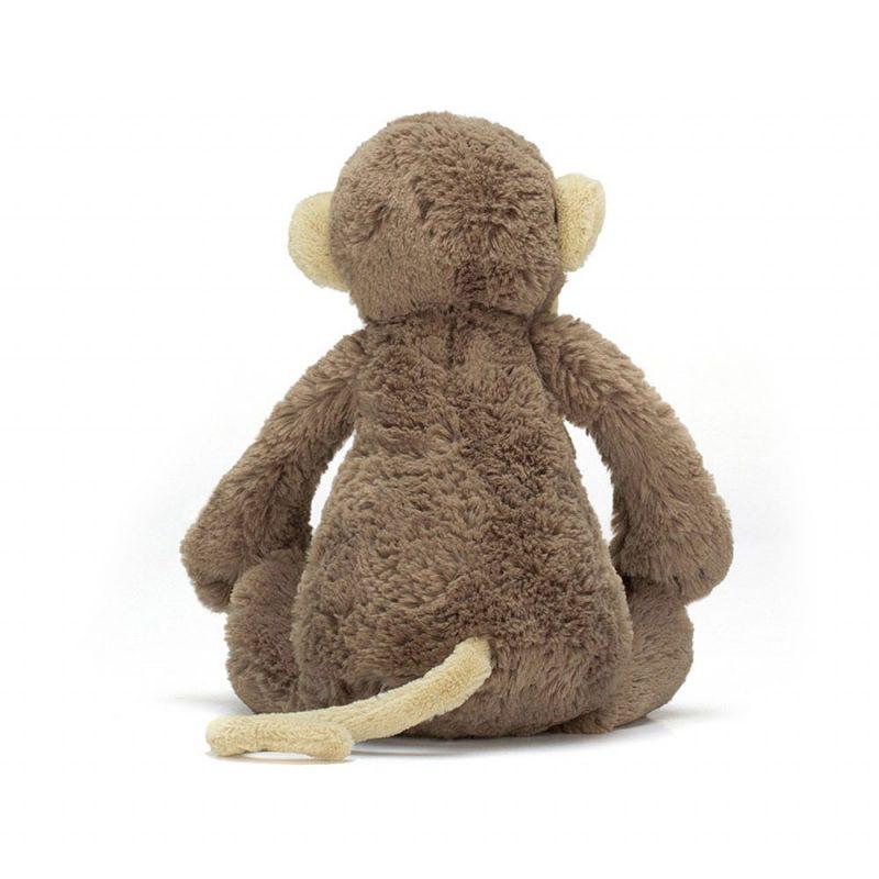 JellyCat Przytulanka małpka Bashful 31 cm - Pan Talerzyk