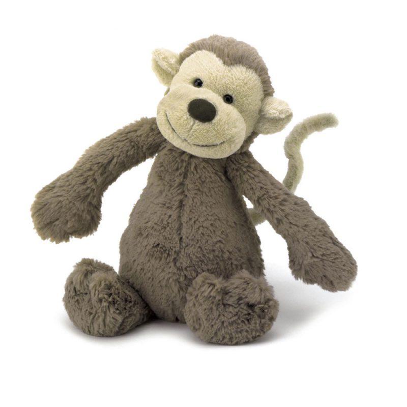 JellyCat Przytulanka małpka Bashful 51 cm - Pan Talerzyk