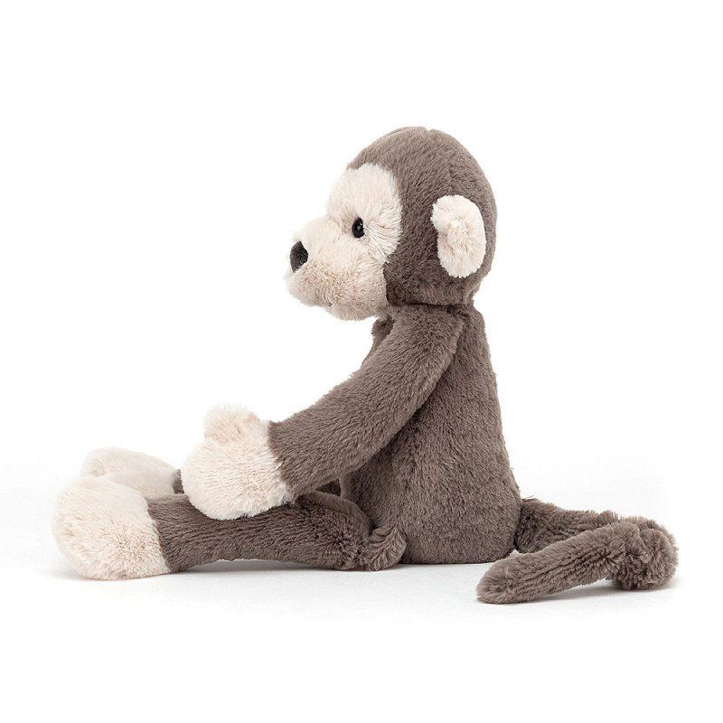 JellyCat Przytulanka małpka Brodie 34 cm - Pan Talerzyk