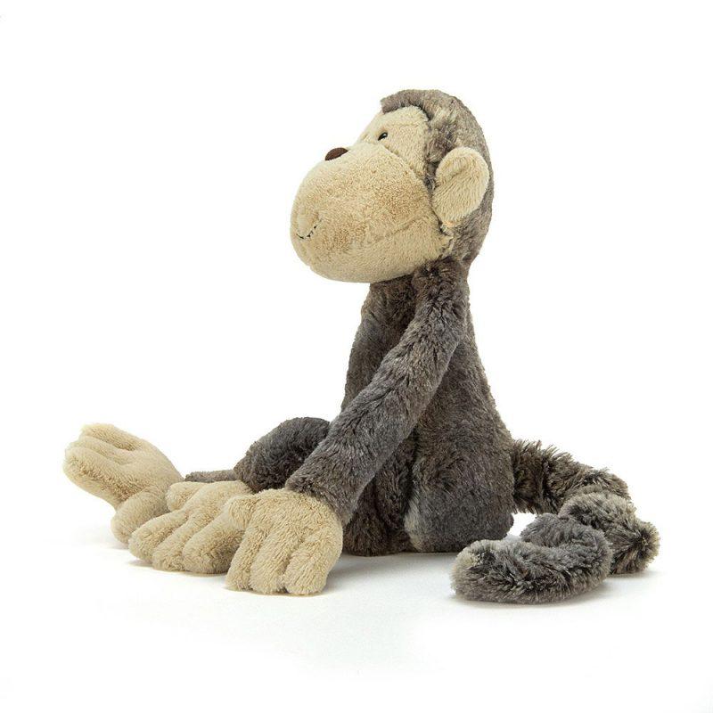JellyCat Przytulanka małpka Mattie 42 cm - Pan Talerzyk