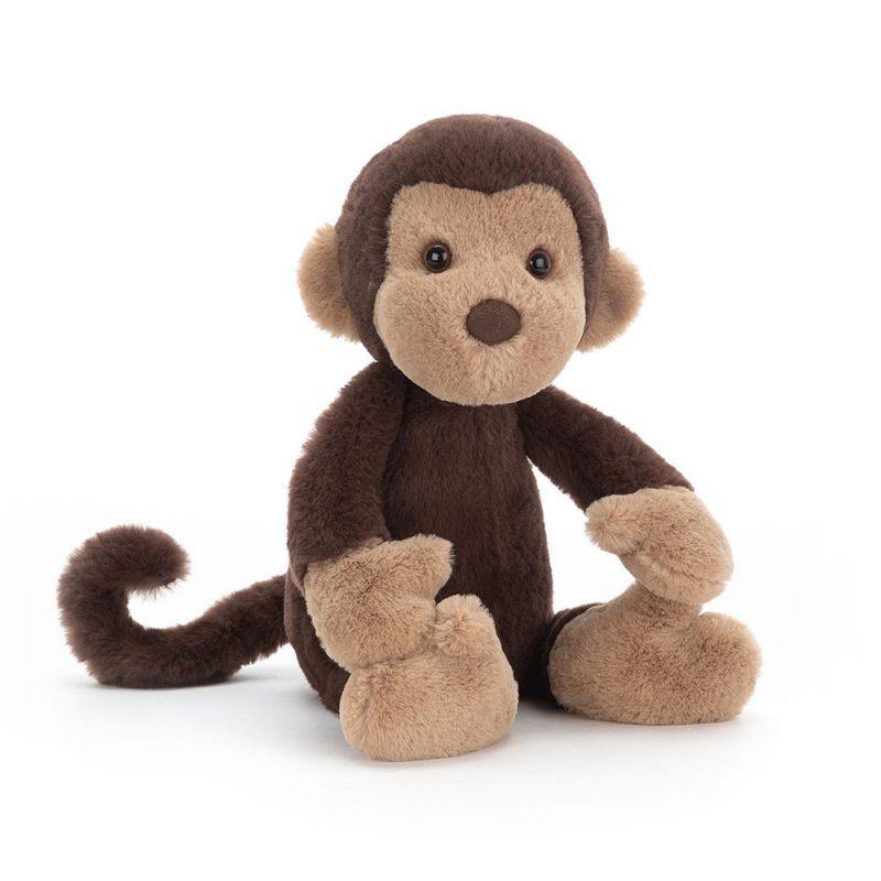 JellyCat Przytulanka małpka Wumper 31 cm - Pan Talerzyk