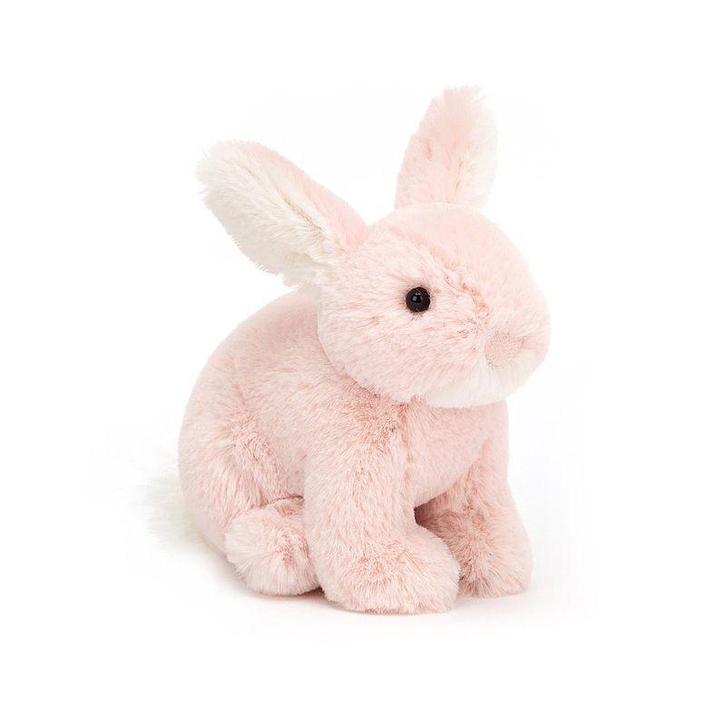 JellyCat Przytulanka mały różowy królik 10 cm - Pan Talerzyk