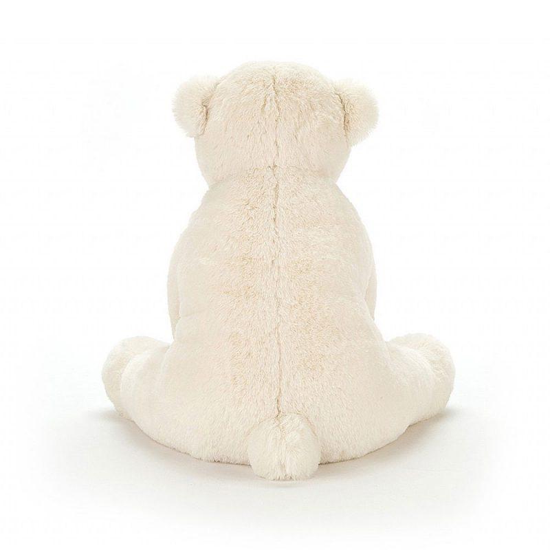 JellyCat Przytulanka miś polarny Perry 12 cm - Pan Talerzyk