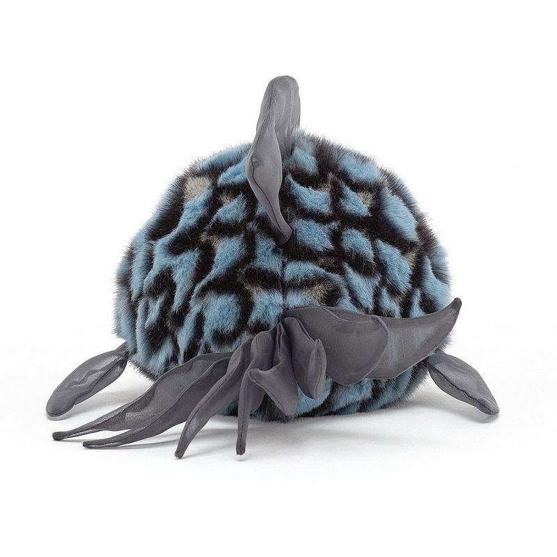 JellyCat Przytulanka naburmuszona niebieska ryba 14 cm - Pan Talerzyk