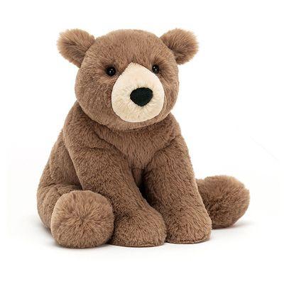 JellyCat Przytulanka niedźwiedź Woody 27 cm - Pan Talerzyk