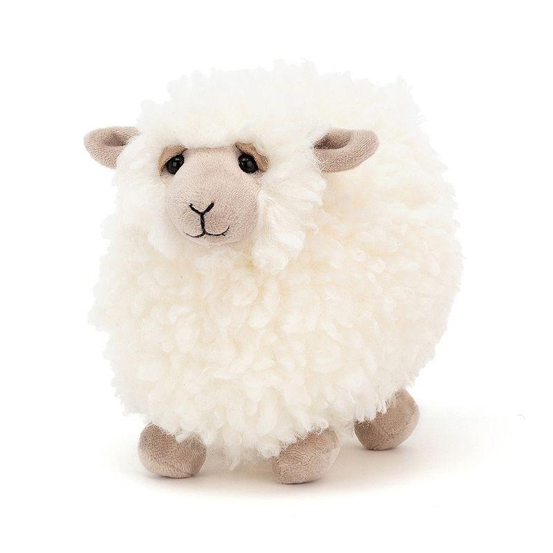 JellyCat Przytulanka owca Rolbie 15 cm - Pan Talerzyk