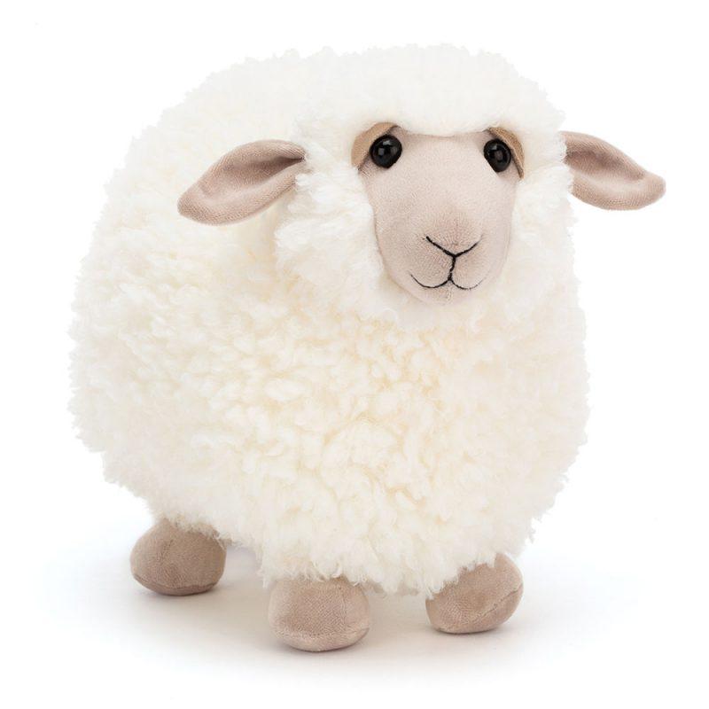 JellyCat Przytulanka owca Rolbie 28 cm - Pan Talerzyk