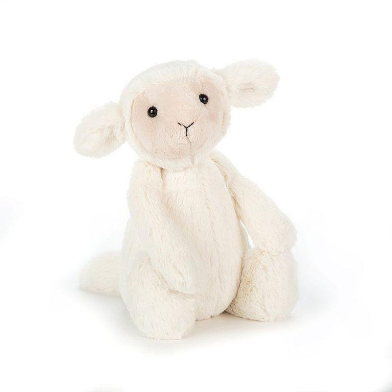 JellyCat Przytulanka owieczka Bashful 18 cm - Pan Talerzyk