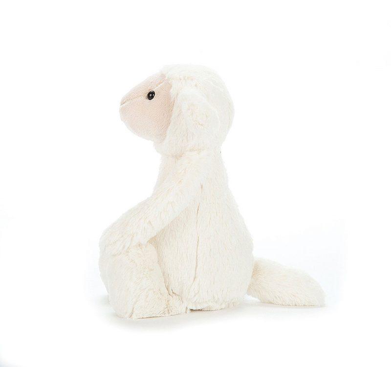 JellyCat Przytulanka owieczka Bashful 31 cm - Pan Talerzyk