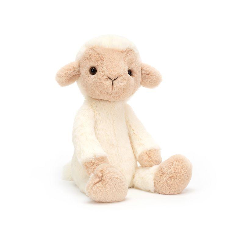 JellyCat Przytulanka owieczka Wumper 31 cm - Pan Talerzyk