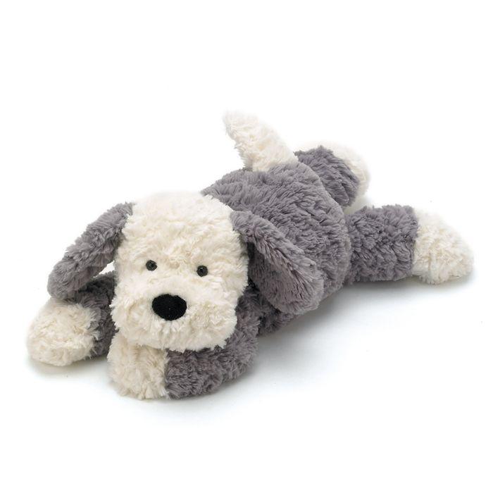 JellyCat Przytulanka pies Tumblie 35 cm - Pan Talerzyk