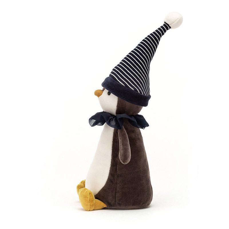 JellyCat Przytulanka pingwin Yule 34 cm - Pan Talerzyk