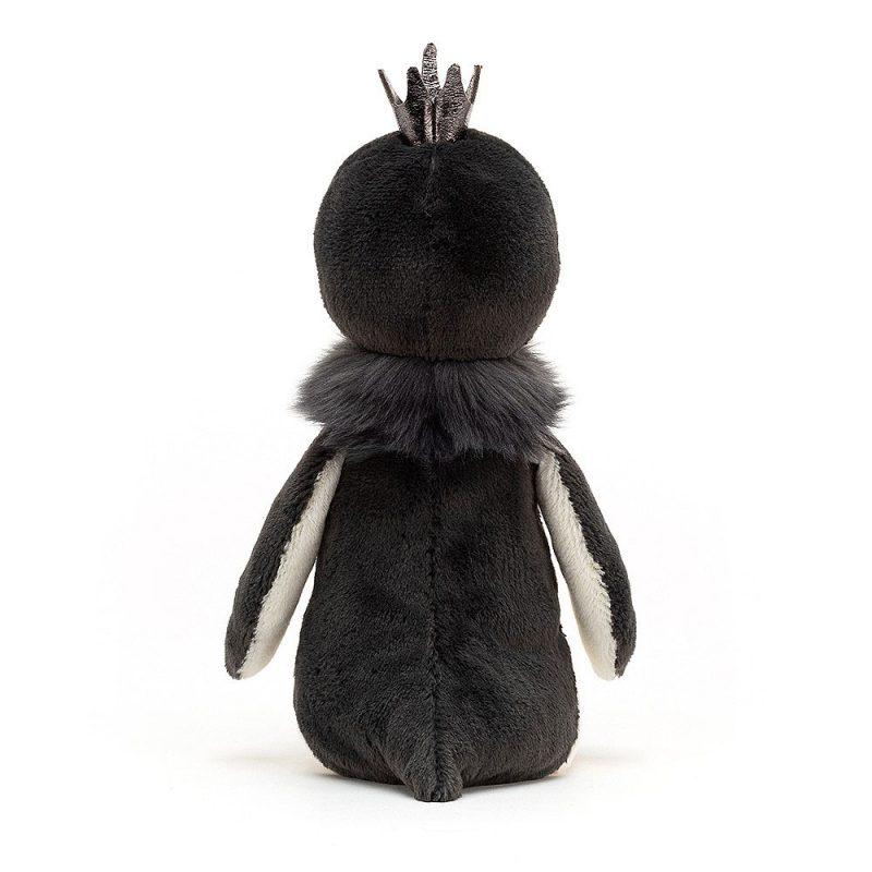 JellyCat Przytulanka pingwin w koronie 26 cm - Pan Talerzyk