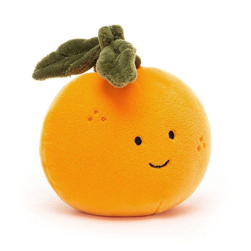 JellyCat Przytulanka pomarańcza Fabulous 9 cm - Pan Talerzyk