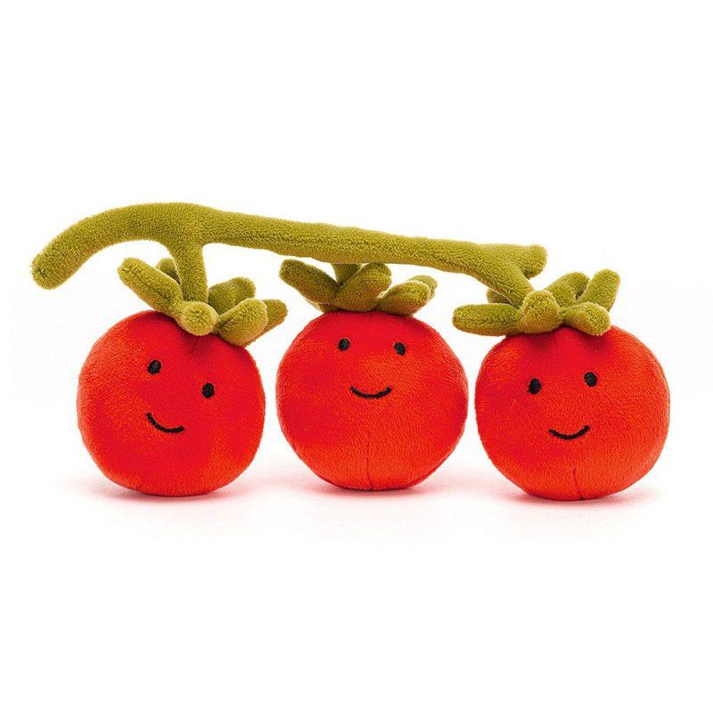 JellyCat Przytulanka pomidor 8 cm - Pan Talerzyk