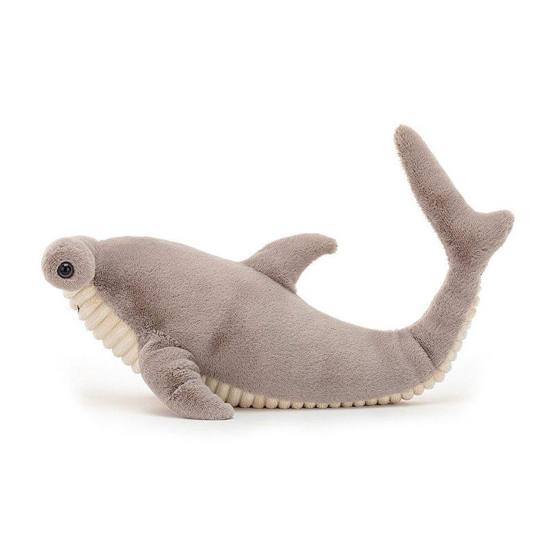 JellyCat Przytulanka rekin młot Harley 13 x 31 cm - Pan Talerzyk