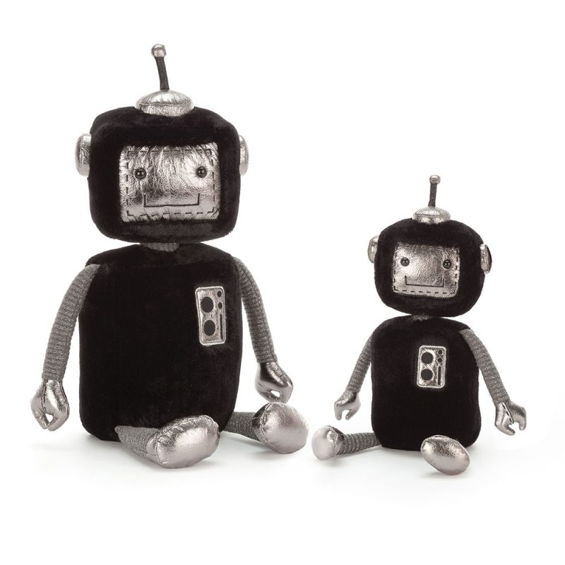 JellyCat Przytulanka robot Jellybot 31 cm - Pan Talerzyk