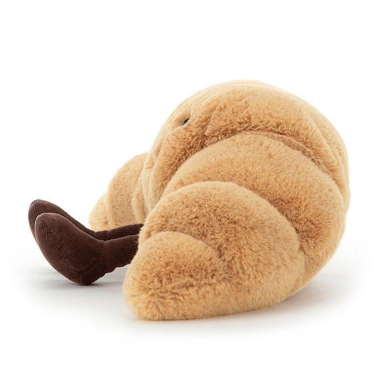 JellyCat Przytulanka rogalik Croissant Amuse 33 cm - Pan Talerzyk